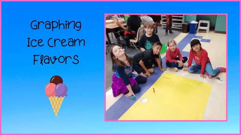 graphing ice cream flavors