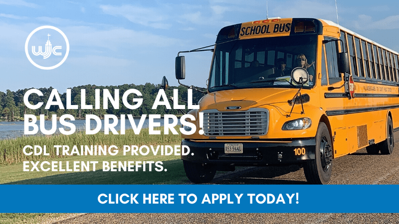 Calling all bus drivers. CDL Training Provided. Excellent Benefits.