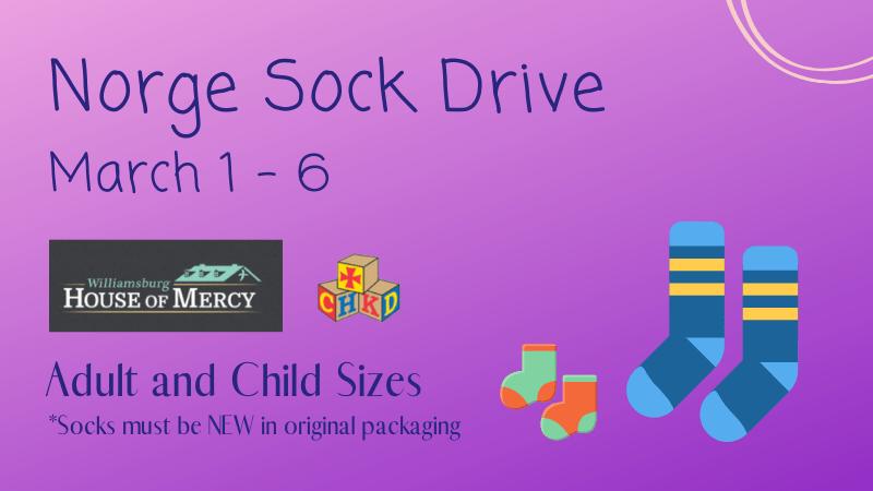 new sock drive march 1 - 5