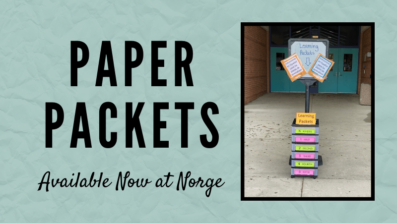 paper packets are now available