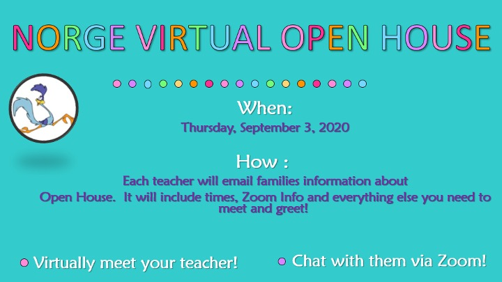 norge virtual open house