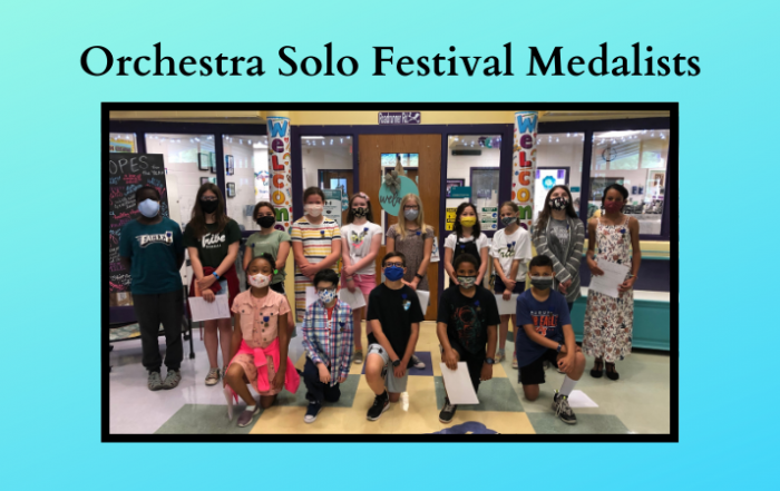 norge orchestra solo festival medal winners