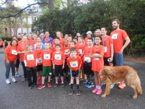 group at DOG run