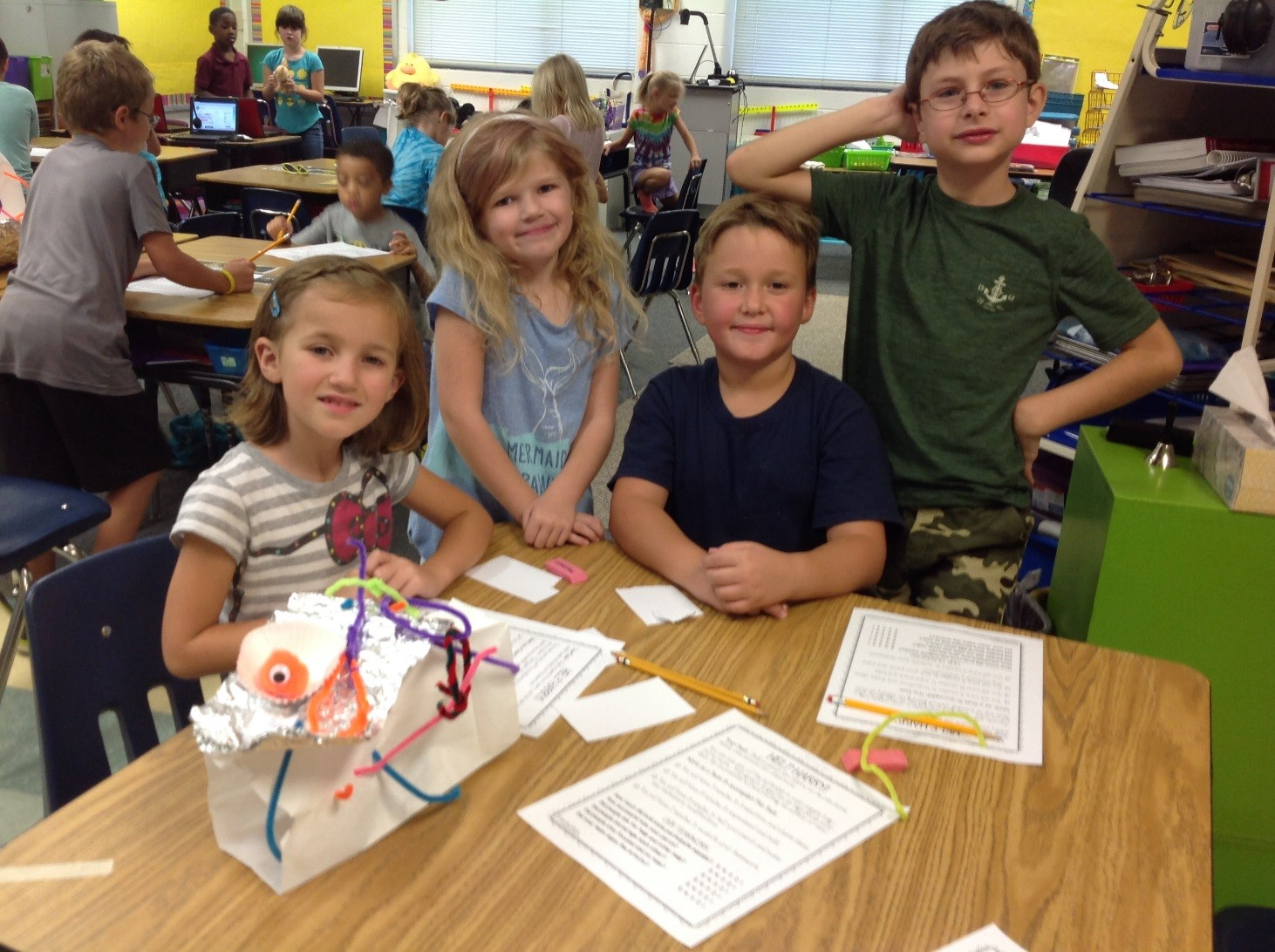 Ms Parsons 2nd Grade Stem Projects Norge Elementary School