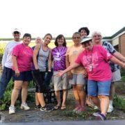 butterfly garden clean up