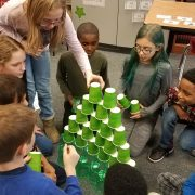 STEM with cups
