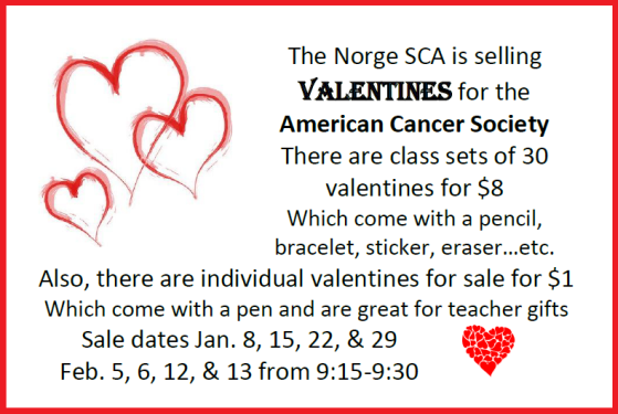 sca valentines for sale