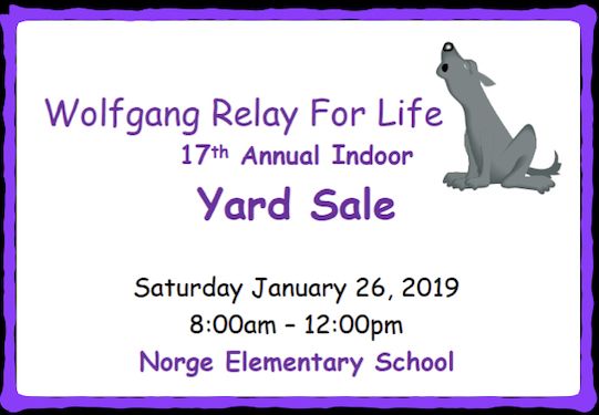 Relay for Life Yardsale