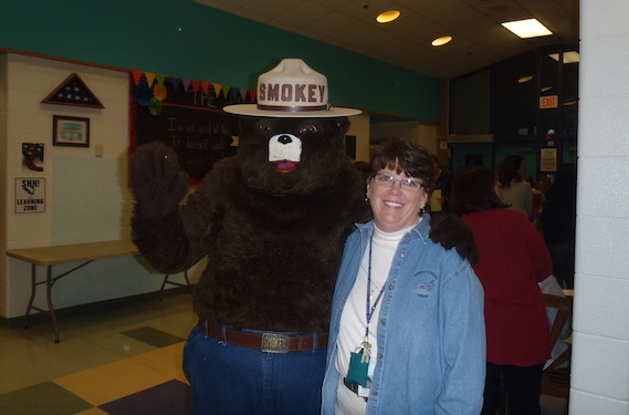nurse byrd and smokey the bear