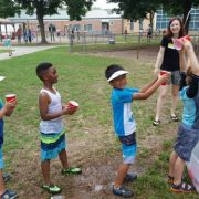 first grade water day