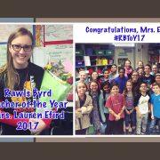 2017 RBES Teacher of the Year