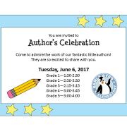 Author's Celebration 2017