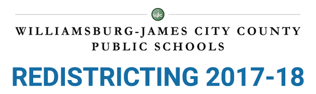 WJCC Public Schools | Redistricting