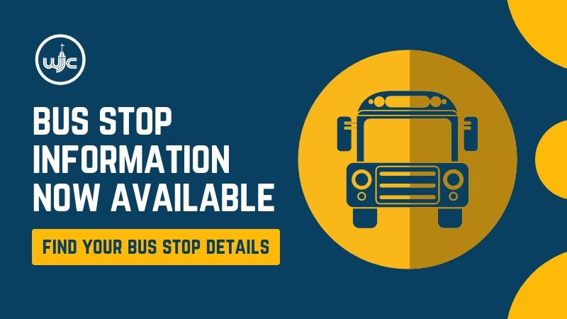 Bus stop information now available