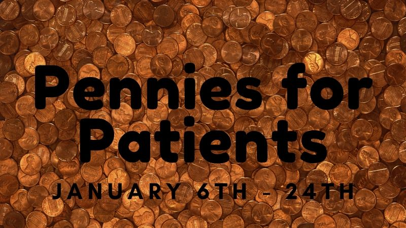 Pennies for Patients runs 1/6-1/24