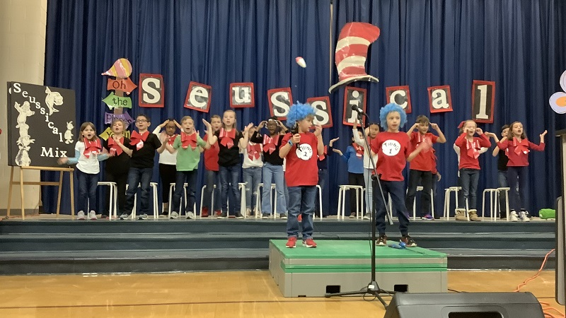 Students perform Seussical Jr.