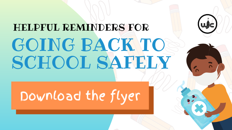 Helpful Reminders for Going Back to School Safely