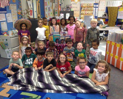 Mrs. Hundley's class celebrate Hispanic Heritage Month
