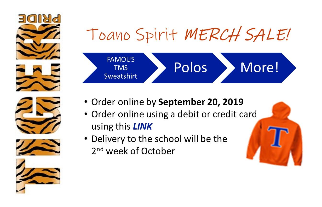 Fall Toano Spiritwear Sale