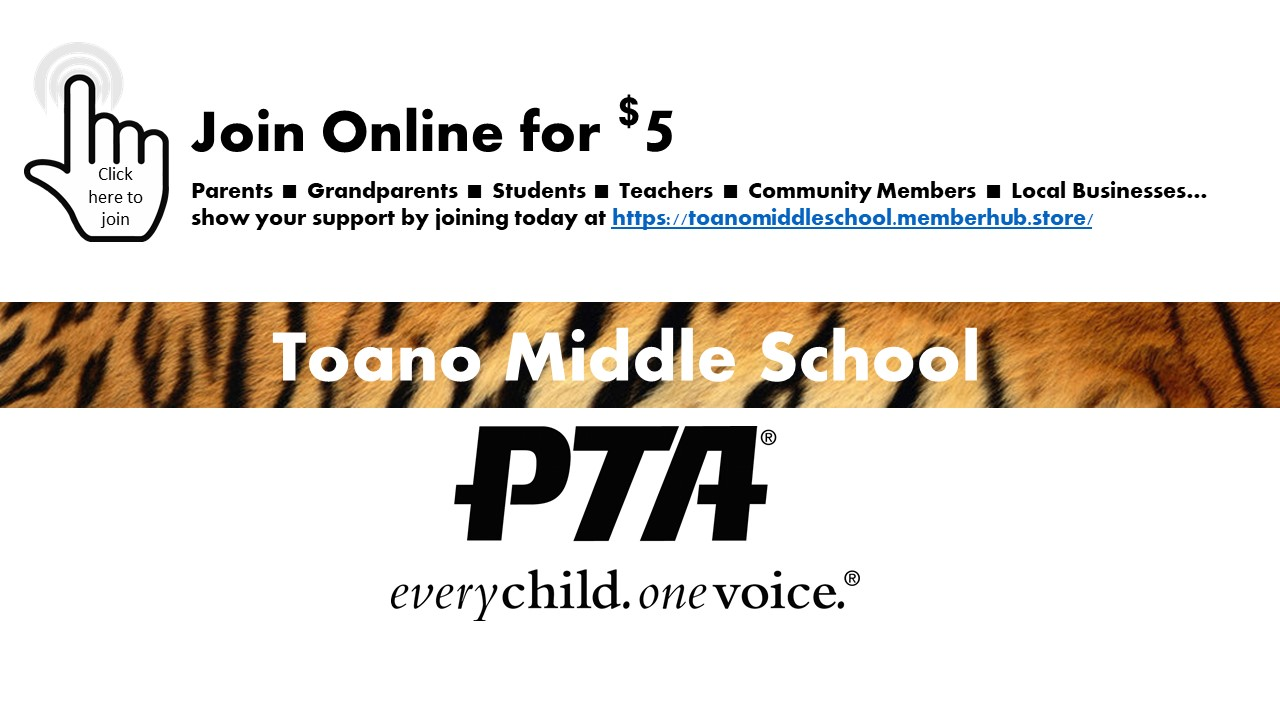 Join the PTSA at Toano