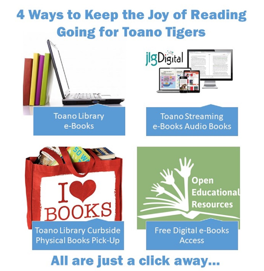 4 Ways to Keep Toano Tigers Reading Link