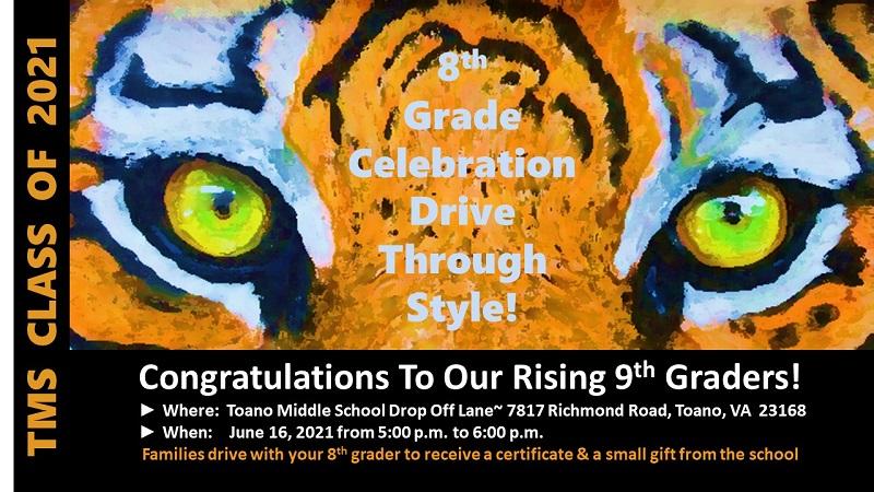 8th Grade Celebration Info