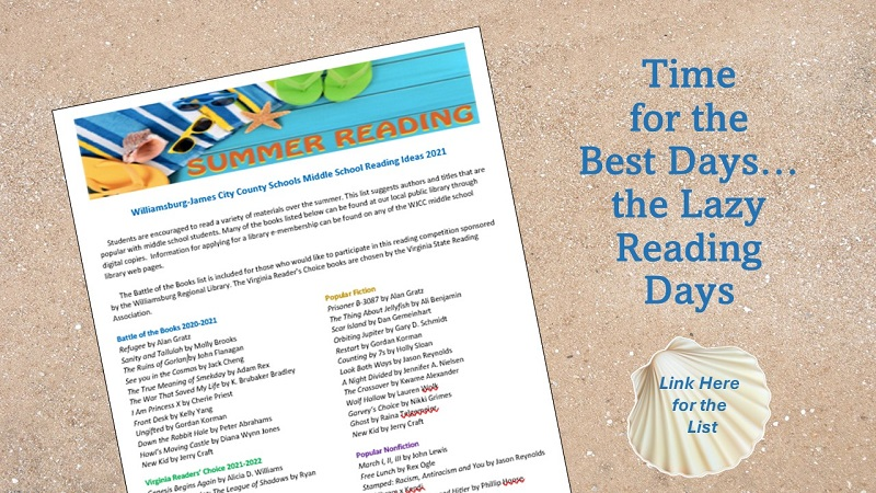 Summer Reading List Ideas