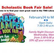 Book Fair Spring