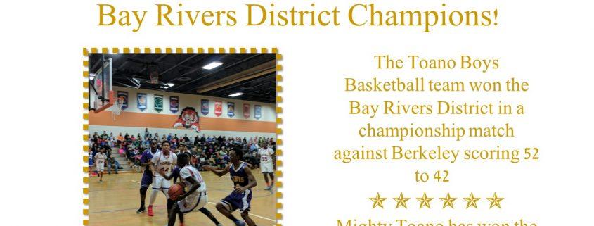 Boys Basketball Champs
