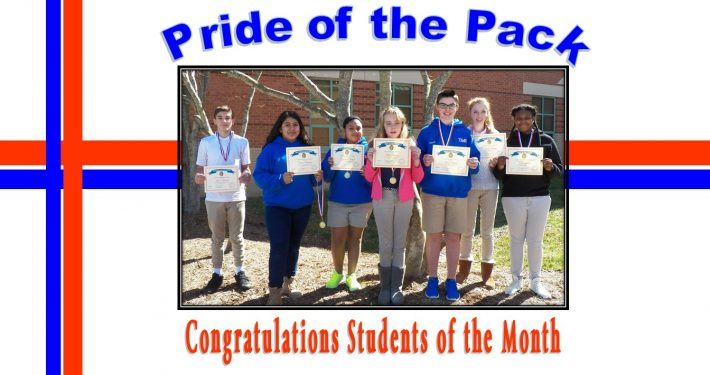Students of the Month-feb 2017