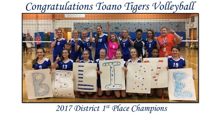 2017 Volleyball Champtions