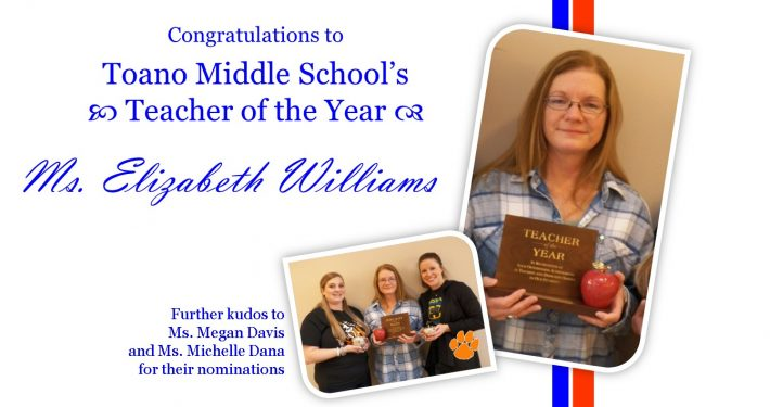 TMS Teacher of the Year