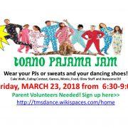 Toano Pajama Jam Dance Party