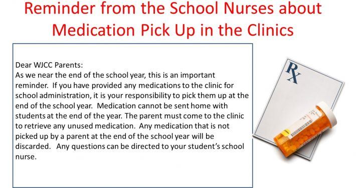 Clinic Notice About Picking Up Medication