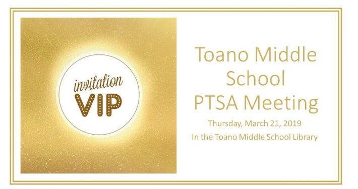 Next PTSA Meeting