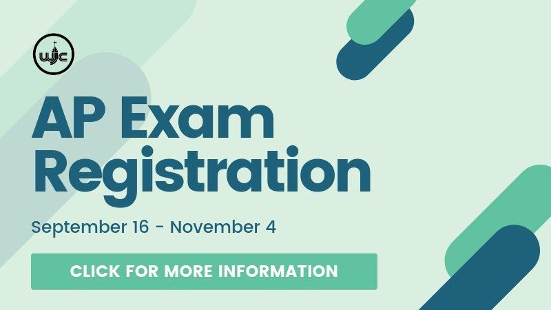 2019 AP Exam Registration - September 14 - November 4