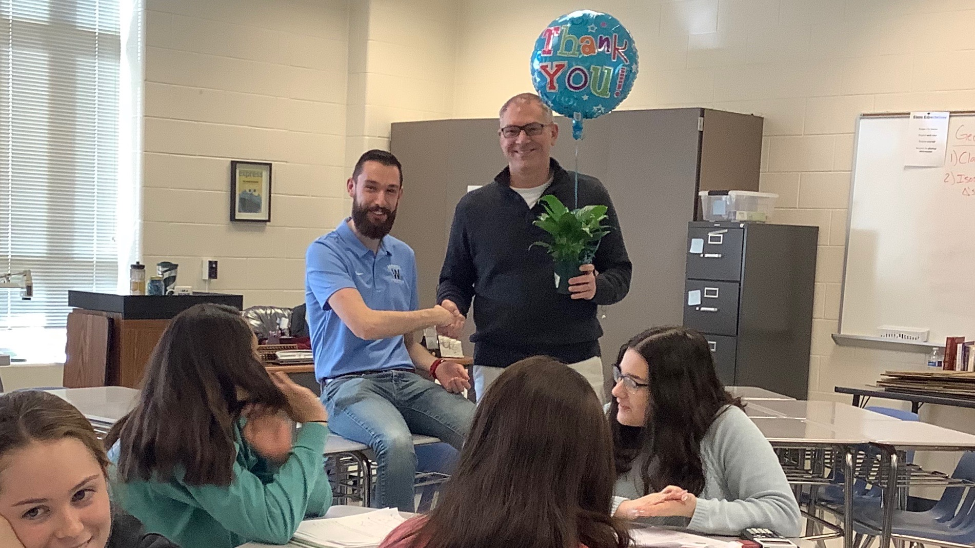 Teacher selected for Rookie of the YEar