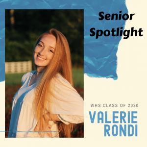 Senior Spotlight Valerie Rondi