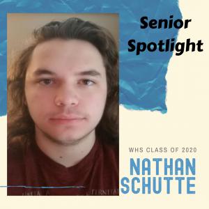 Senior Spotlight Nathan Schutte