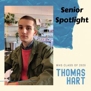 Senior Spotlight Thomas Hart