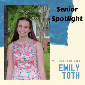 Senior Spotlight Emily Toth