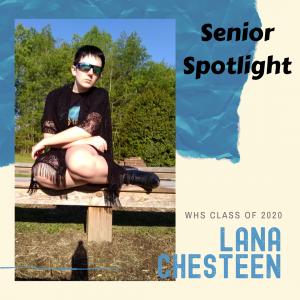 Senior Spotlight Lana Chesteen