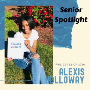 Senior Spotlight Alexis Holloway