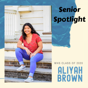 Senior Spotlight Aliyah Brown