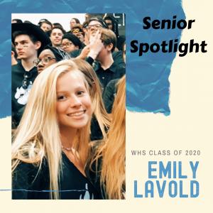Senior Spotlight Emily Lavold