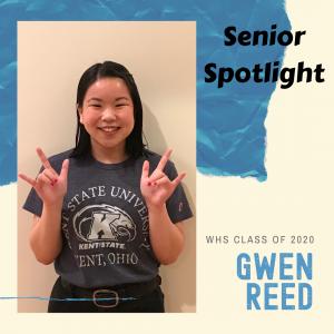 Senior Spotlight Gwen Reed