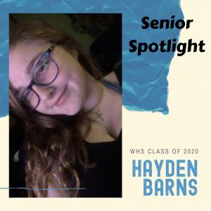 Senior Spotlight Hayden Barns