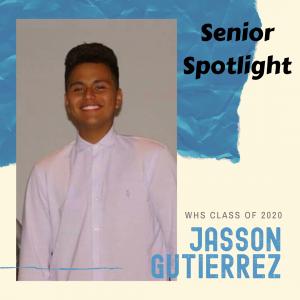 Senior Spotlight Jason Gutierrez