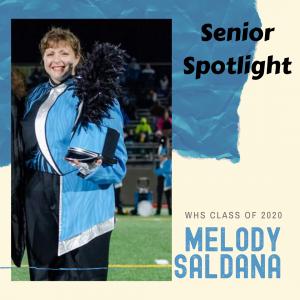 Senior spotlight Melody Saldana