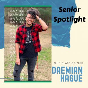 Senior Spotlight Daemian Hague